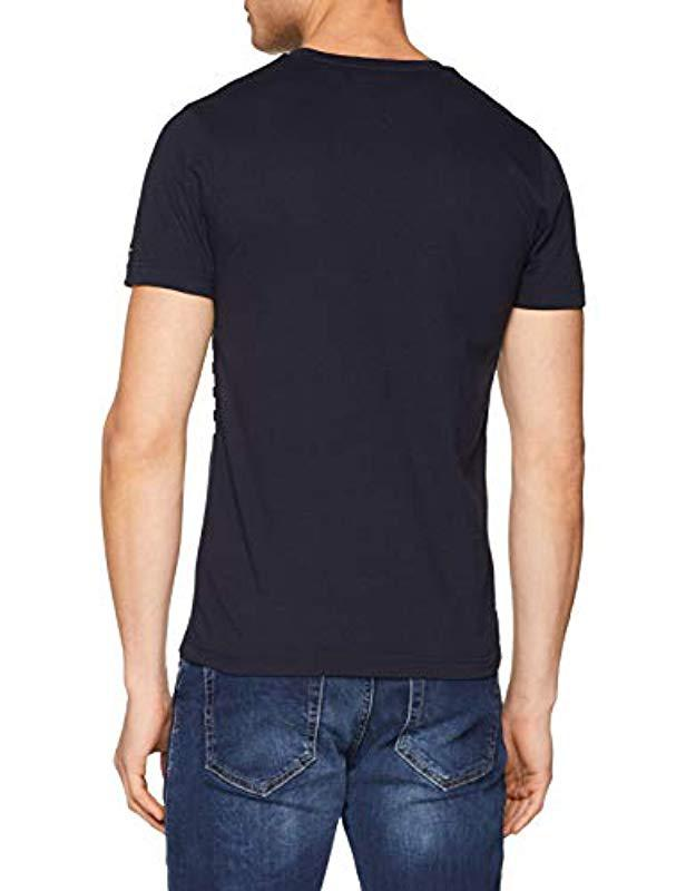 b67c321aa0 Tommy Hilfiger Wcc Colour Block Stripe Tee T-shirt in Blue for Men - Lyst