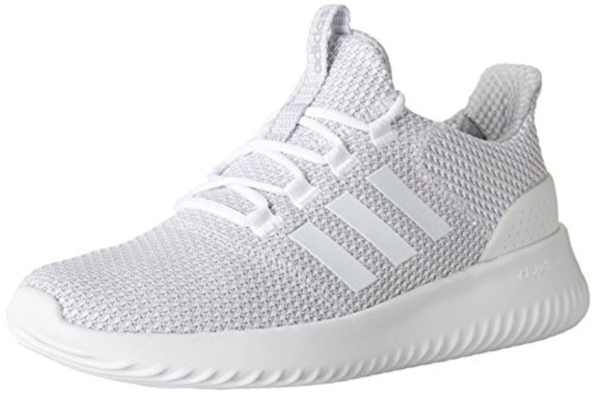 Lyst - Adidas Cloudfoam Ultimate Running Shoe in White for Men e63ba5ec0