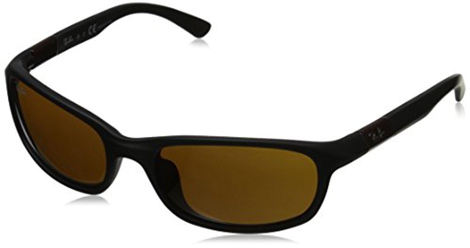 e7af14dbb2 Lyst - Ray-Ban Junior 0rj9056s Rectangular Sunglasses in Black for Men