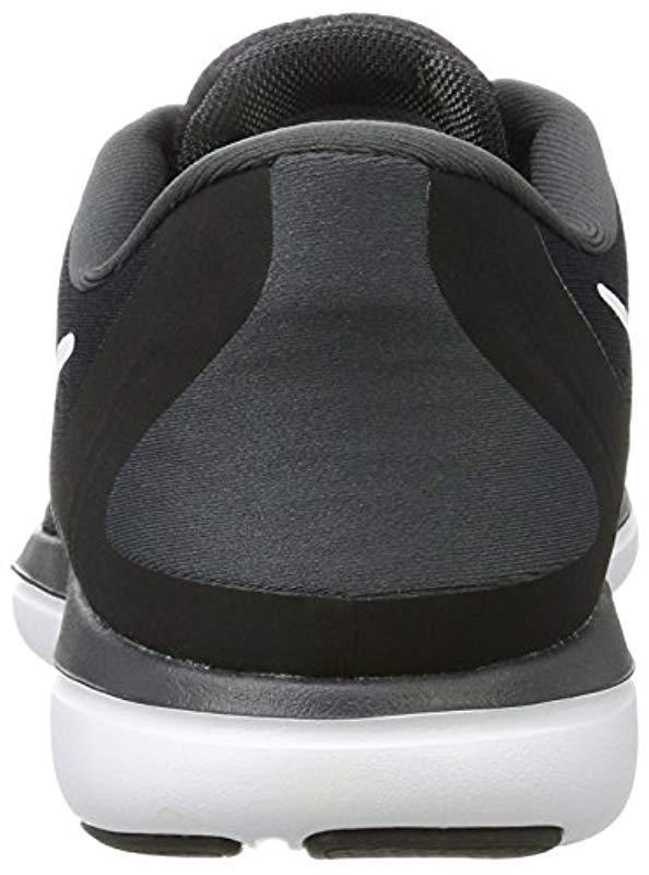 245866798ff03 Nike - Black Flex 2017 Rn Running Shoes for Men - Lyst. View fullscreen