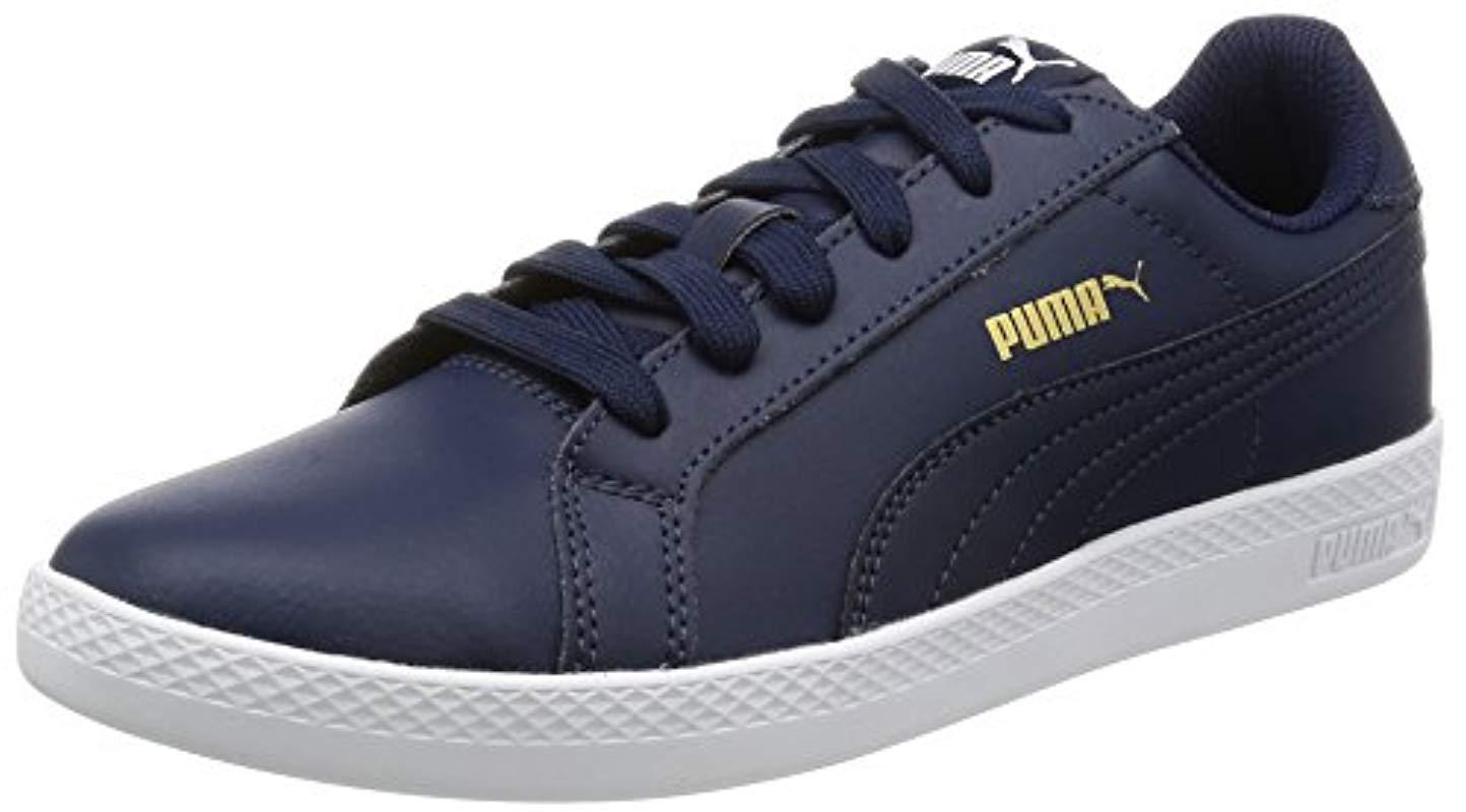 newest 67b40 3a411 PUMA Smash Wns L Low-top Sneakers in Blue - Save 29% - Lyst