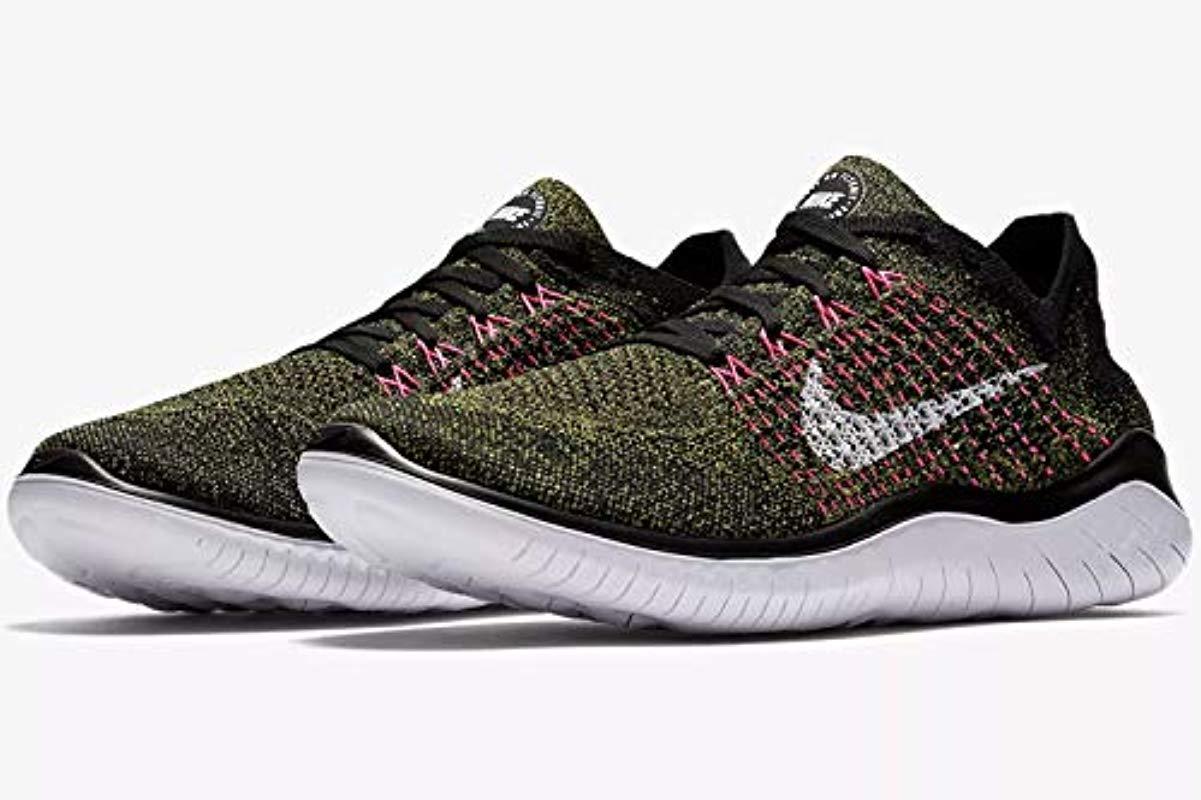 5fba4ed36c44 Nike - Laufschuh Free Run Flyknit 2018 Shoes Black for Men - Lyst. View  fullscreen