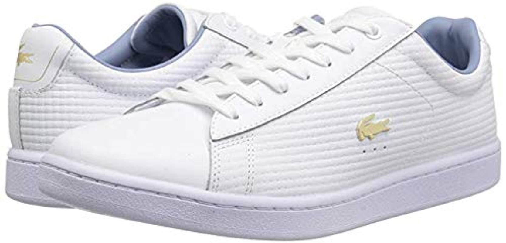 e56900150ea Lacoste Carnaby Evo 118 6 Spw Sneaker in White - Save 34% - Lyst