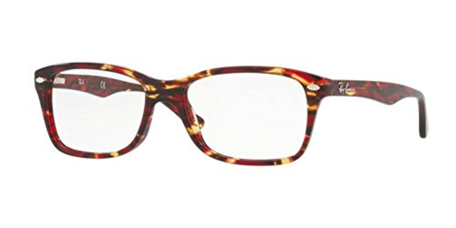 40dbc6a30cb8d Lyst - Ray-Ban Rx5228 Eyeglasses in Brown
