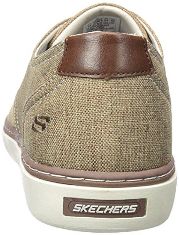 c1c74f506d89 Lyst - Skechers Palen Gadon Oxford in Brown for Men - Save 12%