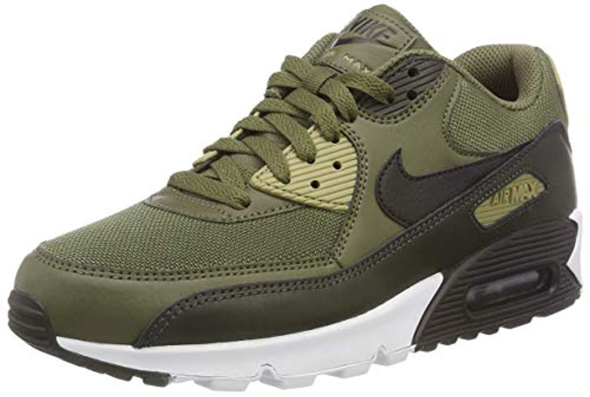 best sneakers 35bd8 a8a5c Nike Air Max 90 Essential Gymnastics Shoes in Green for Men - Lyst