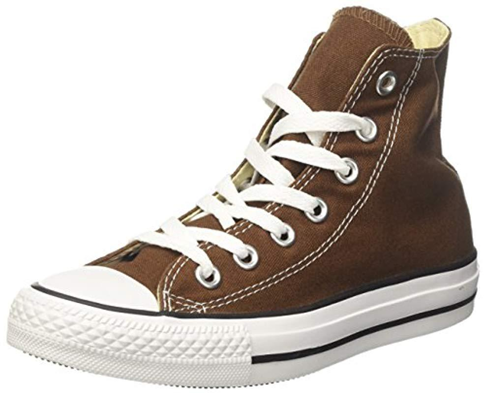 40e1c318ae5 Converse Unisex Chuck Taylor All Star Canvas Hi-top Trainers in ...