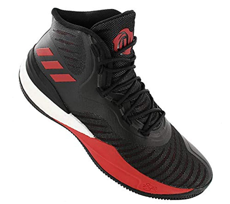 adidas D Rose 8 Basketball Shoes in Black for Men - Lyst