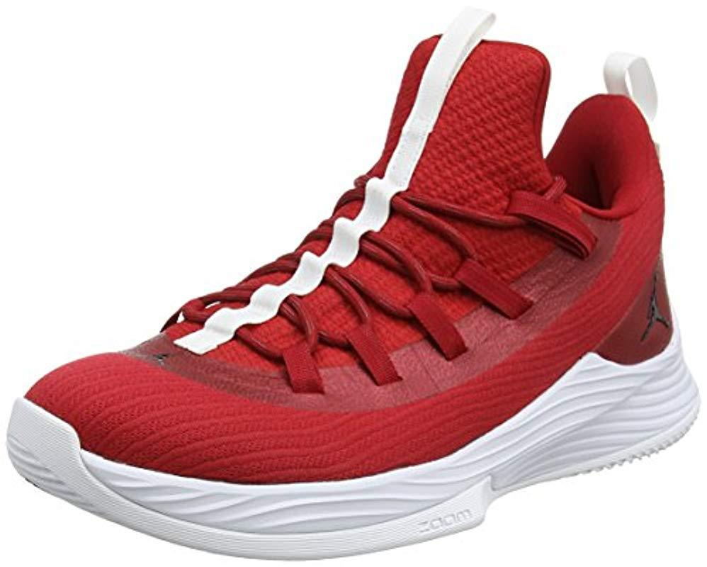 dafc57323df Nike Jordan Ultra Fly 2 Low Basketball Shoes in Red for Men - Lyst