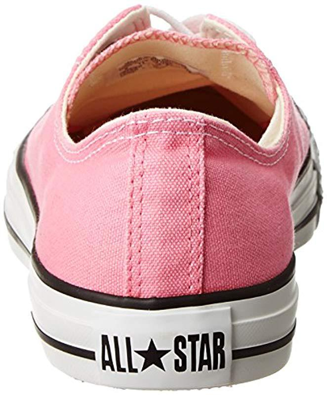 893937fc148007 Converse Chuck Taylor All Star Pink Paper Women s Shoes (trainers) In  Multicolour in Pink - Save 64.56692913385827% - Lyst