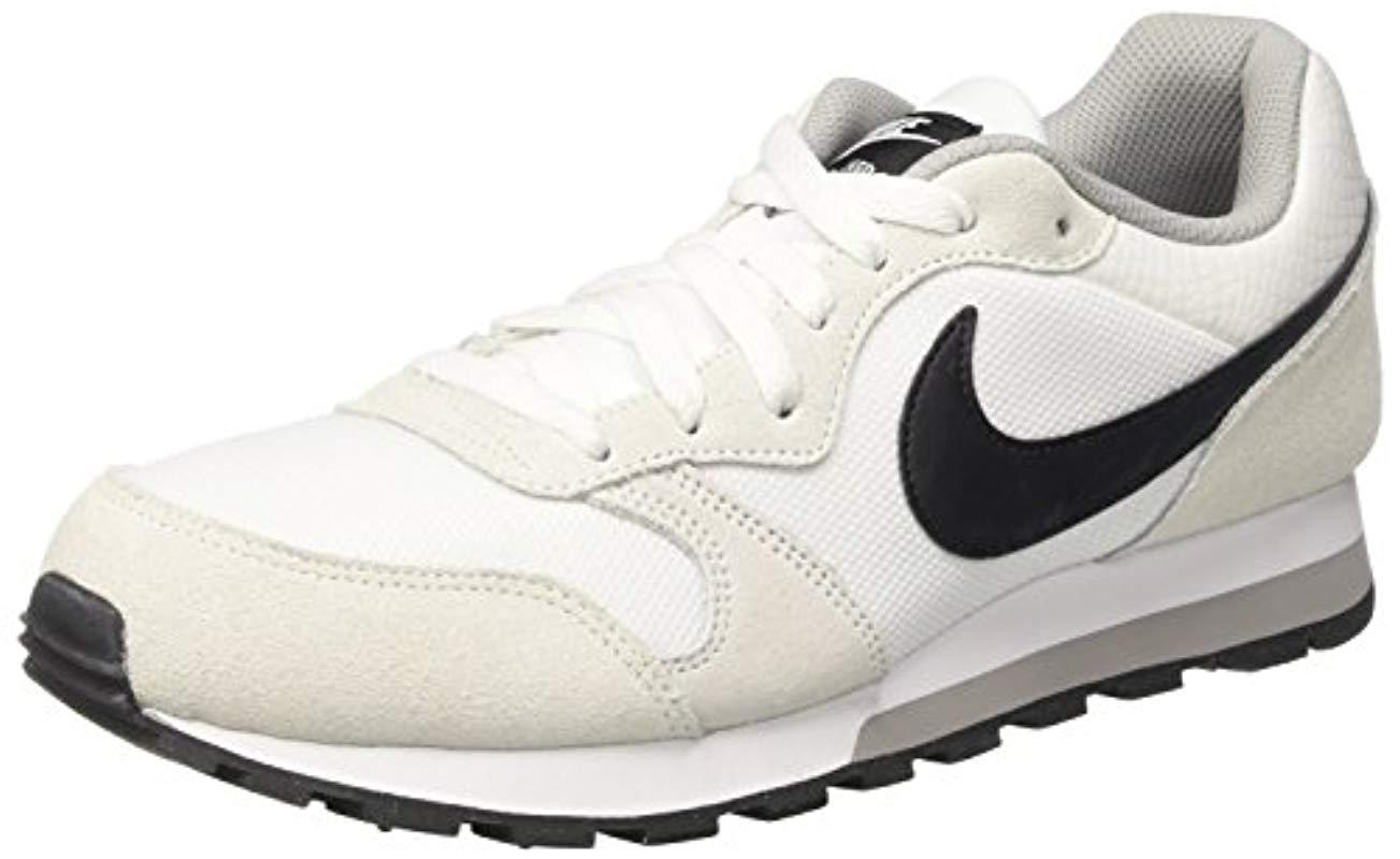 986fef52b2 Nike  s Md Runner 2 Low-top Sneakers in White - Lyst