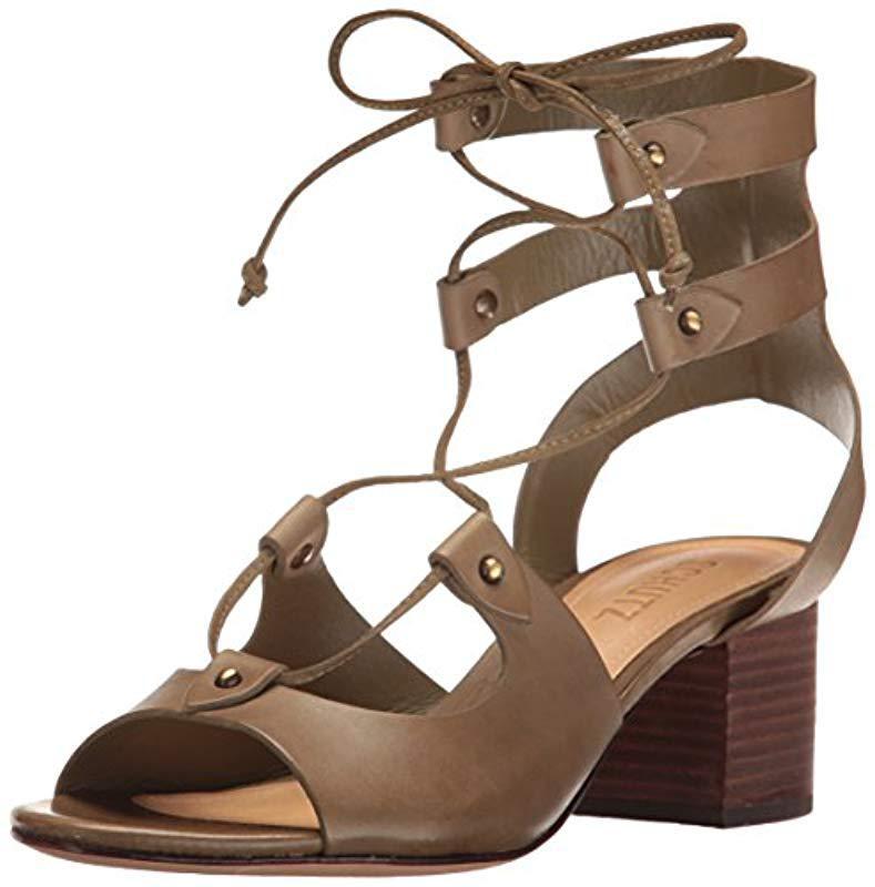 34bb9f6fd37 Lyst - Schutz Monik Dress Sandal in Brown - Save 1.2658227848101262%