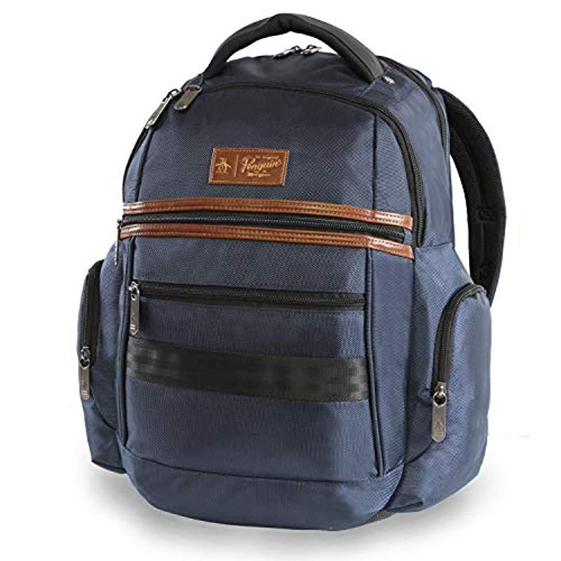 5d9c9a0a12f1 Original Penguin Classics Laptop Backpack Fits Most 15-inch Laptop ...