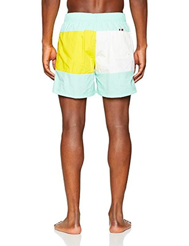 04a2618166e341 Tommy Hilfiger Medium Drawstring Swim Trunks in Blue for Men - Save 3% -  Lyst