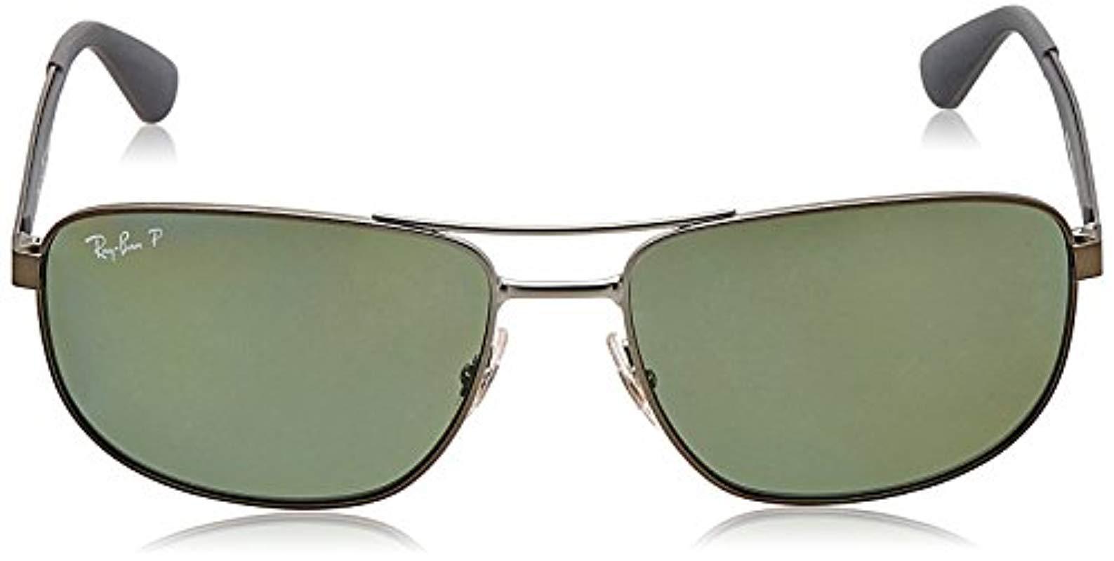 e24a7f765f Ray-Ban - Multicolor Metal Sunglasses In Matte Black Polarised Rb3528 006 82  61. View fullscreen