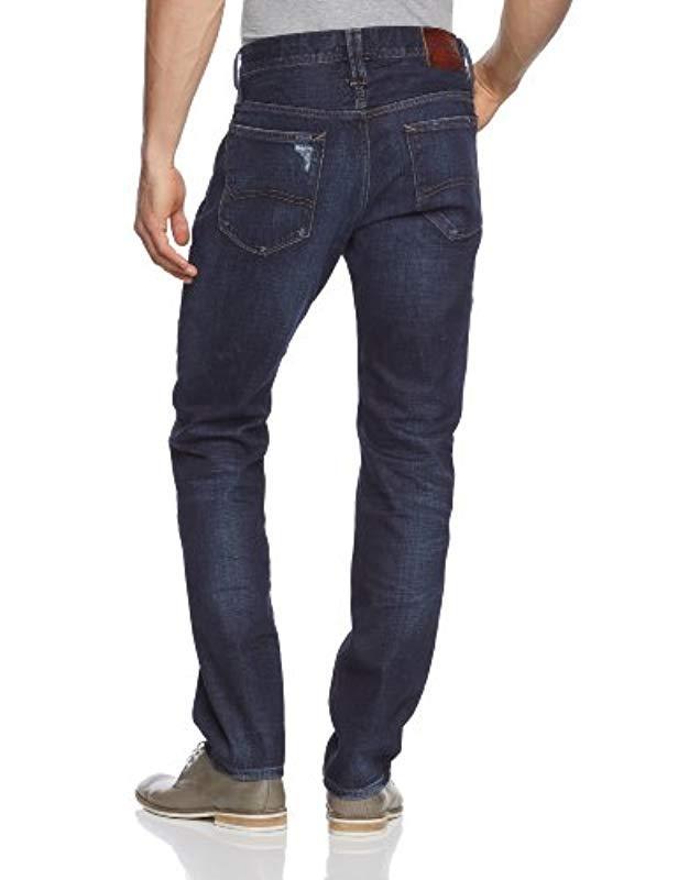 a0556210 Tommy Hilfiger Hilfiger Denim Tapered Fit Jeans in Blue for Men - Lyst