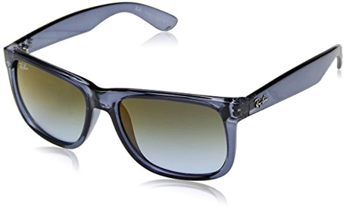 e8677a6390 Ray-Ban. Justin RB4165 Non-Polarized, Gafas de sol Unisex de color azul