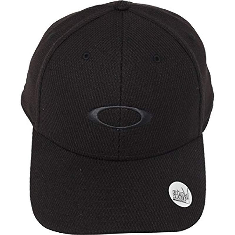 11e65f494ea Oakley - Black Golf Ellipse Hat for Men - Lyst. View fullscreen