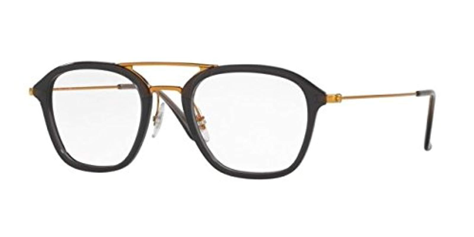 0b011df878d24 Ray-Ban. Women s Gray 0rx 7098 5633 50 Optical Frames ...