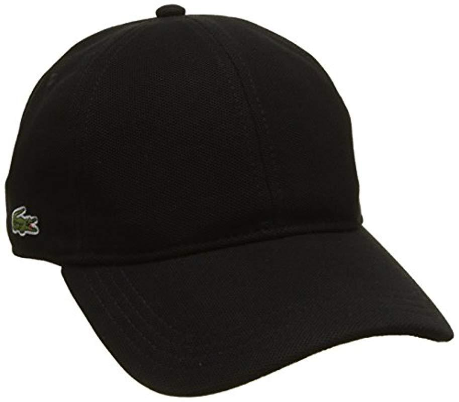 Lacoste S Rk0123 Casquette Noir Small Taille Fabricant S Lot