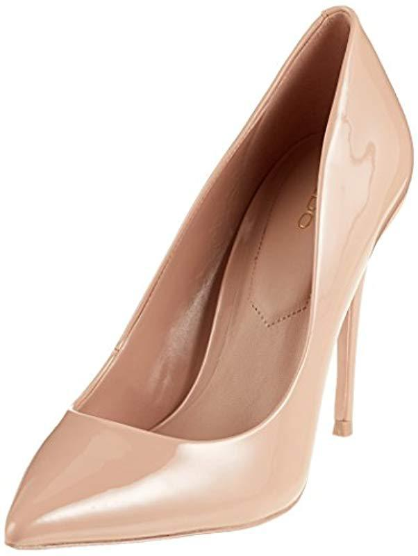 0eb5e13f54f6 Aldo Stessy Closed Toe Heels in Pink - Lyst