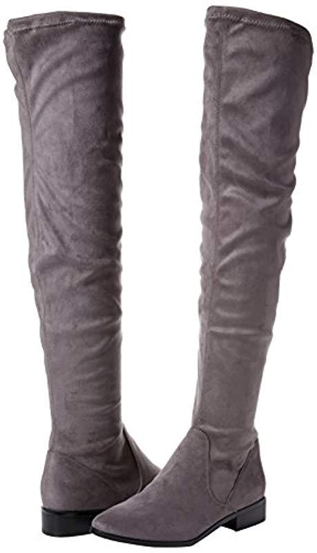 4dab60ae3ed ALDO  s Elinna. Boots in Gray - Lyst