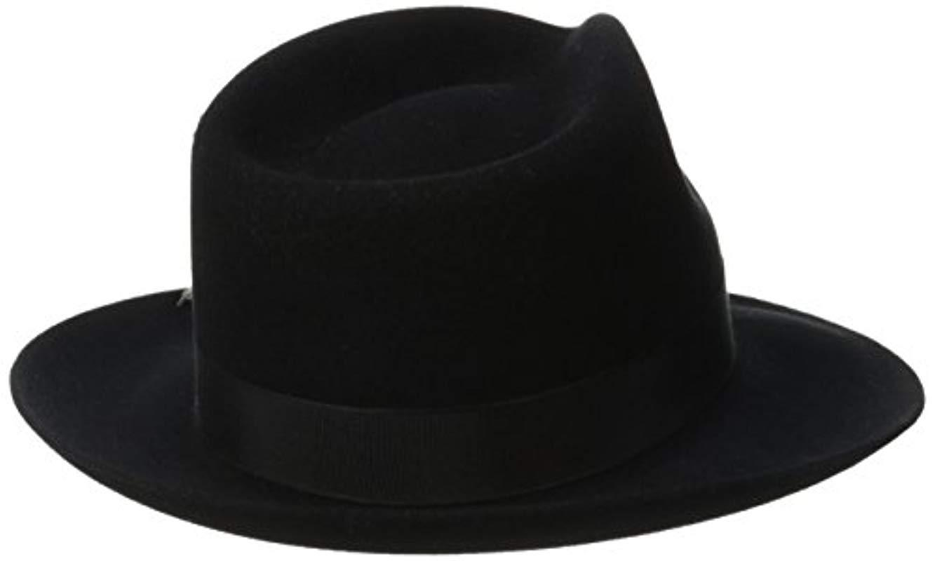 ee8c82aa Stetson Stetspm Chatham Royal Deluxefur Felt Hat in Black for Men ...