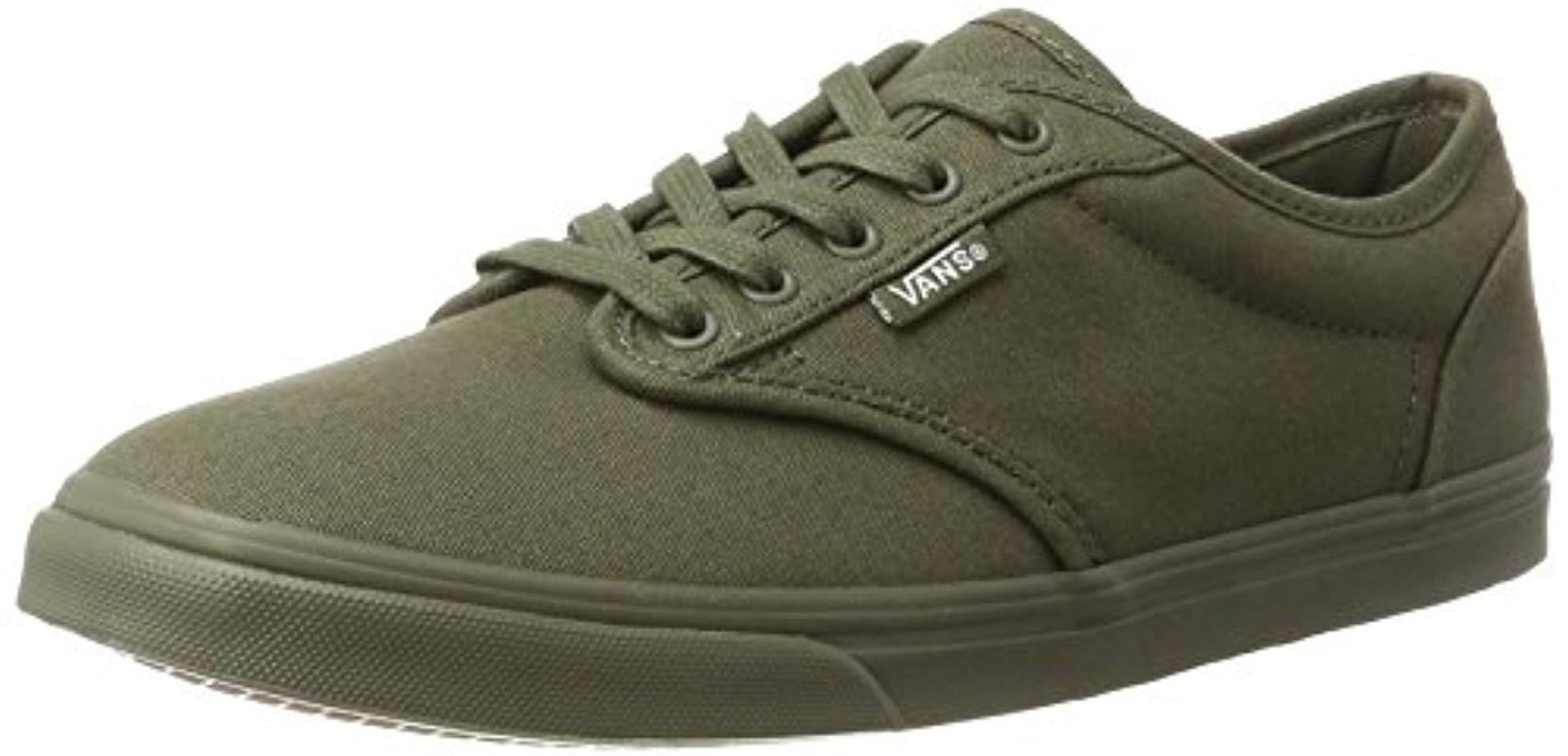 bb4c6736540632 Vans - Green Atwood Low Trainers - Lyst. View fullscreen