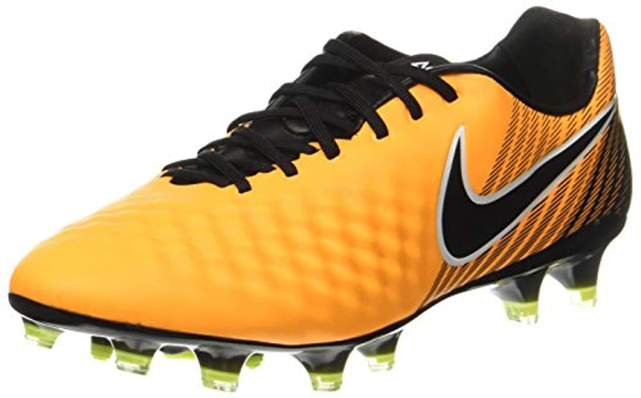 best sneakers 295b9 6c8ee Nike Magista Opus Ii Fg Football Boots in Orange for Men - Save 25 ...