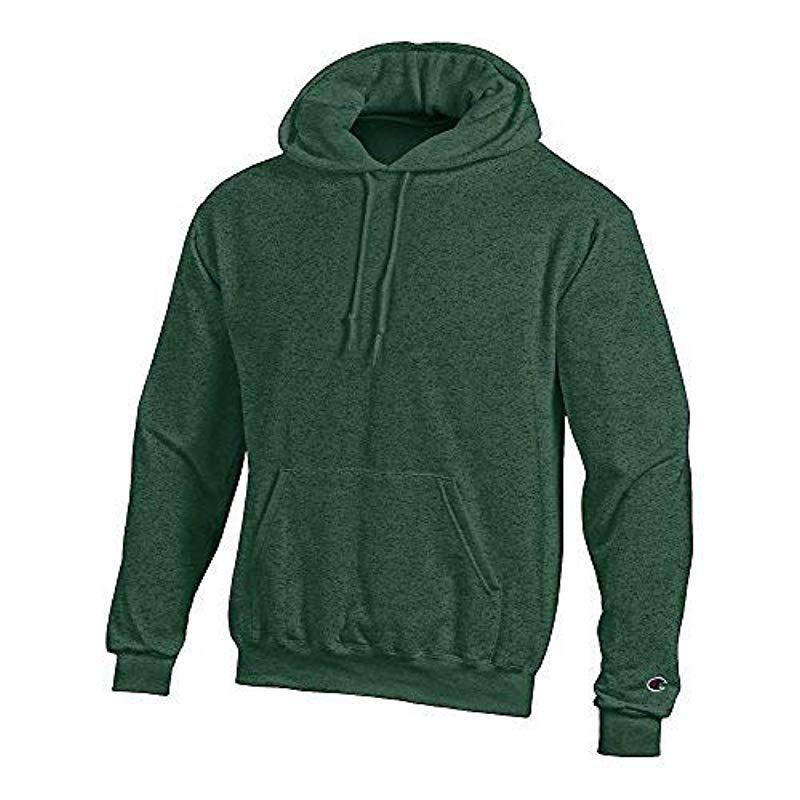 9fb3fd410 Lyst - Champion Double Dry Vented Heather Tee With Freshiq in Green ...