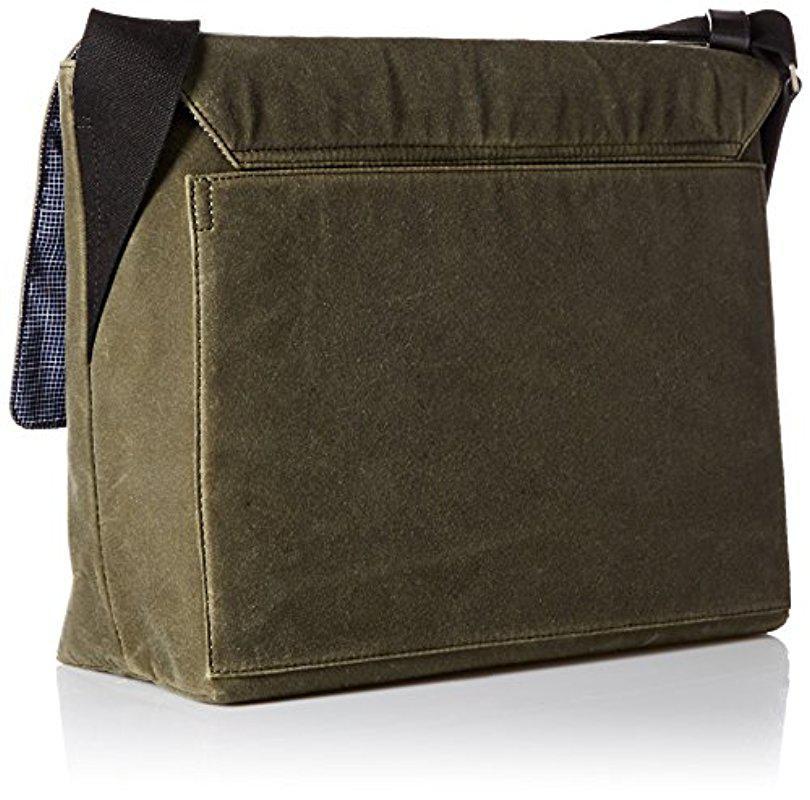 0fd0a6a36 Jack Spade Waxwear Field Messenger Bag in Green for Men - Lyst