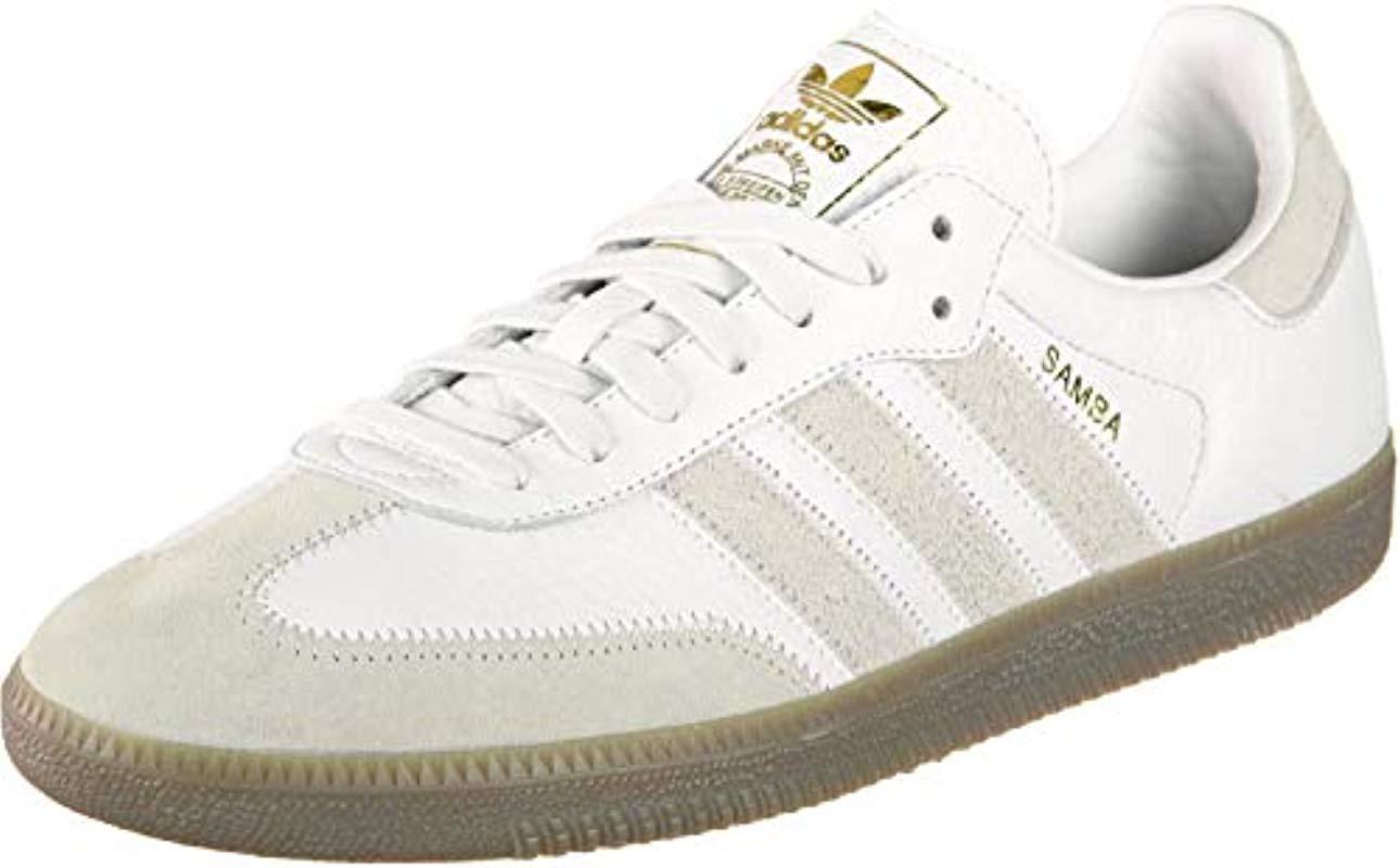 e8b48ff11a641d adidas Samba Og Ft Gymnastics Shoes in White for Men - Lyst