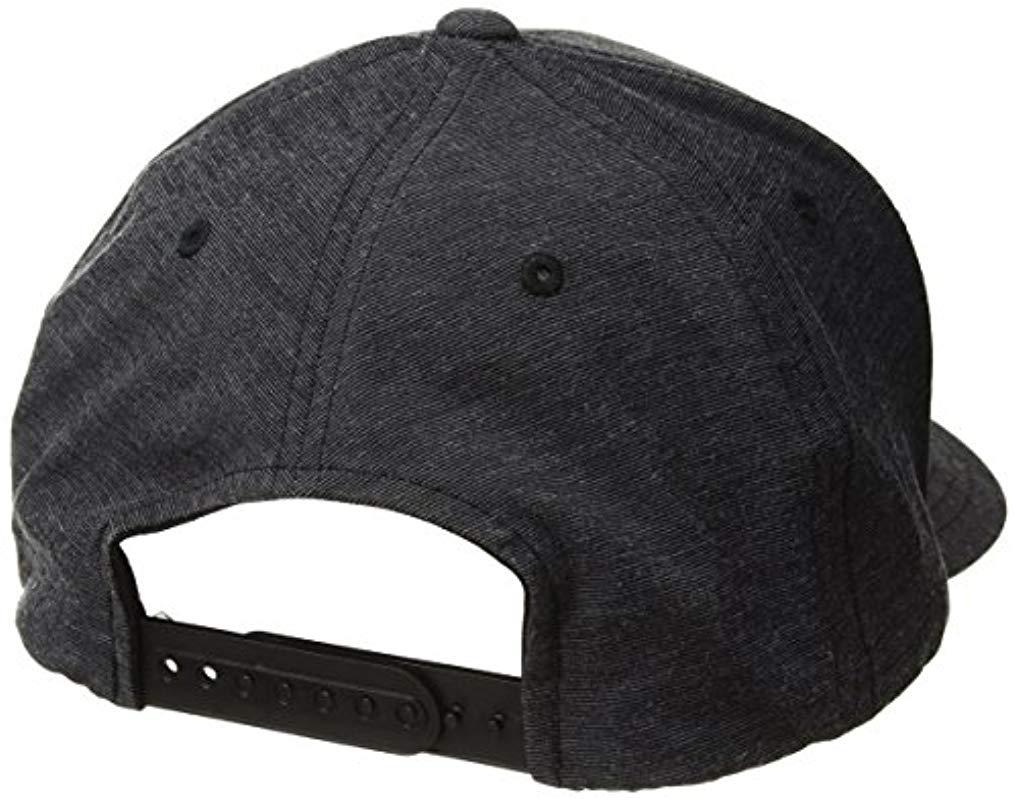 brand new 4d972 42329 Lyst - Quiksilver Union Heather Sb Trucker Hat in Black for Men