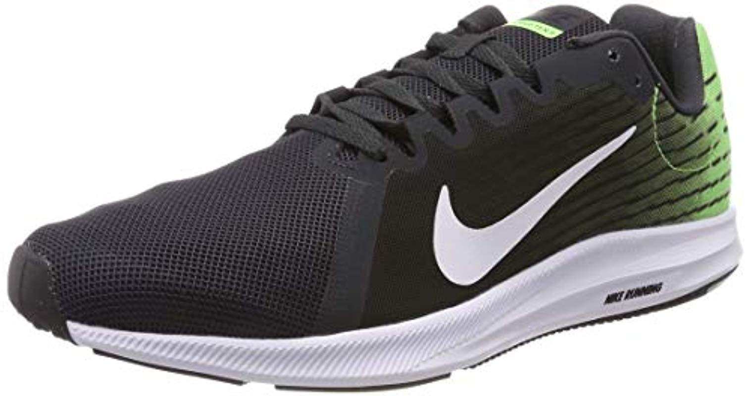best sneakers e5945 77b19 Nike Downshifter 8 Running Shoes, Multicolour (anthracite white lime ...