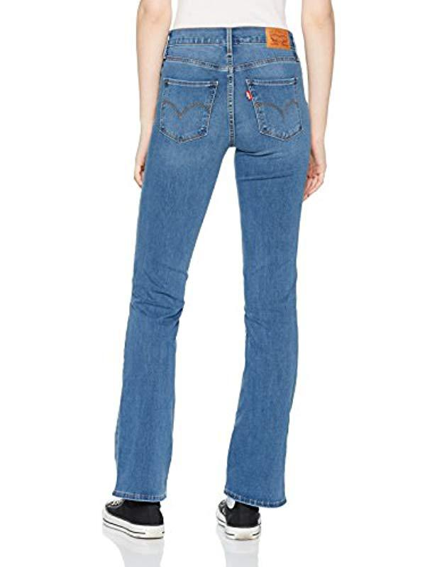 d11c32b4 Levi's 315 Shaping Boot Bootcut Jeans in Blue - Lyst