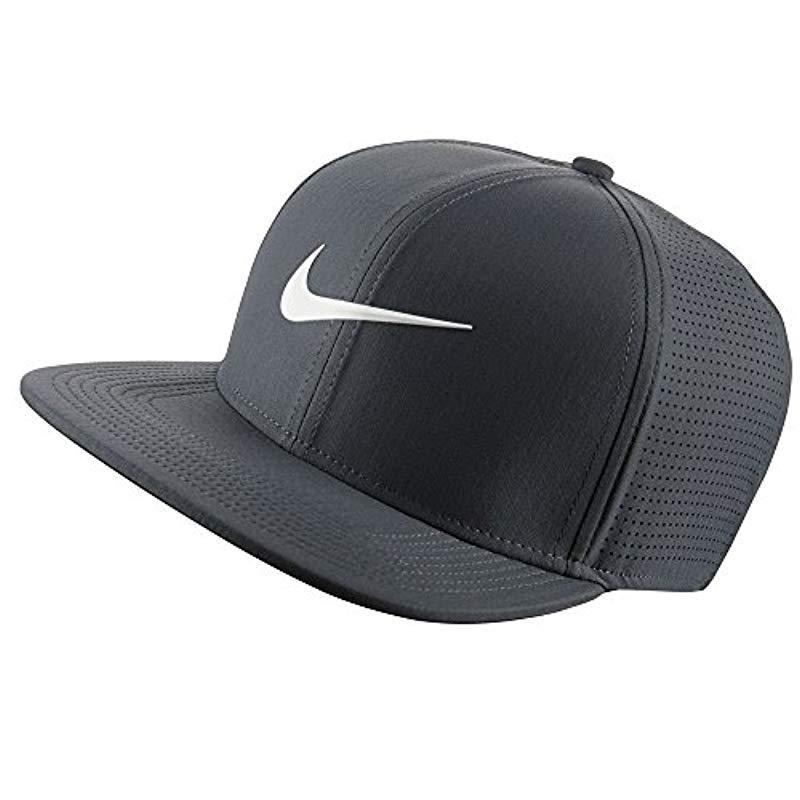 804be36f4fcfa Nike Aerobill Pro Cap Performance Hat in Gray - Lyst