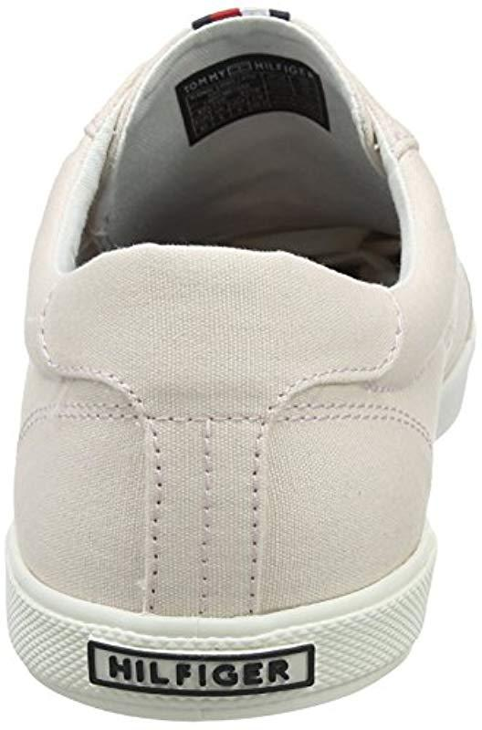 d4195d181443 Tommy Hilfiger - Multicolor  s Iconic Long Lace Sneaker Low-top Grey for Men.  View fullscreen