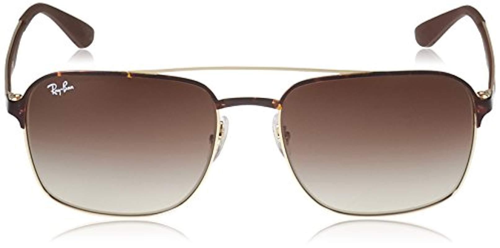 58 de Negro sol Gafas de Adultos 3570 Rayban Unisex 8SnazwUax