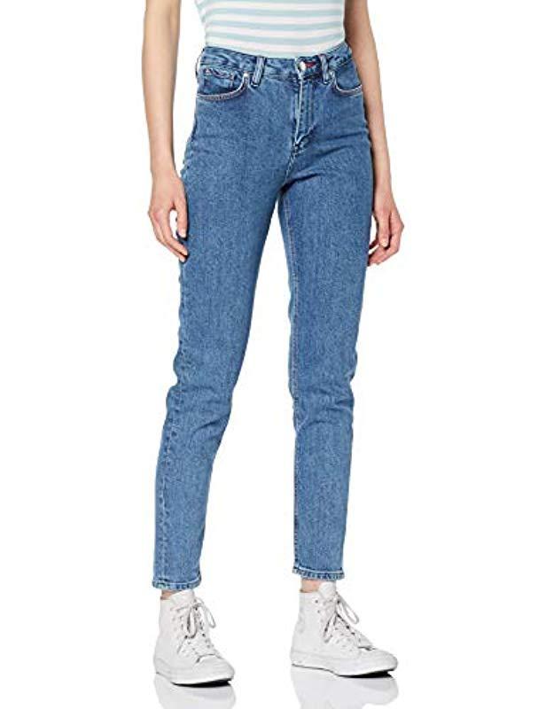 62e5a652 Tommy Hilfiger Gramercy Tapered Hw A Alek Boyfriend Jeans in Blue - Lyst