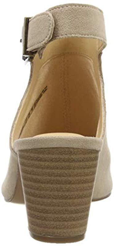 e5507f845844 Clarks - Natural Deloria Gia Ankle Strap Sandals - Lyst. View fullscreen