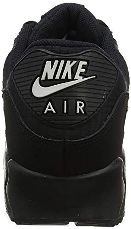 huge discount 7c845 0cdec Nike -  s Air Max 90 Essential Gymnastics Shoes Multicolour (black white 019.  View fullscreen