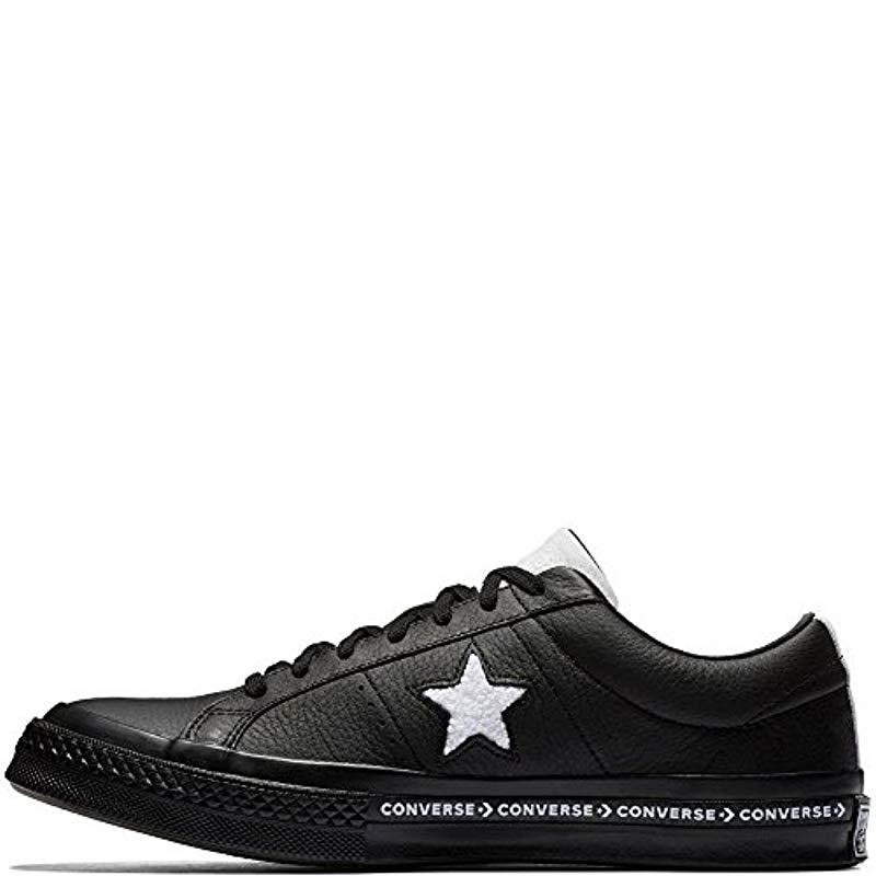 a1919df9ed57 Converse Unisex Adults  Lifestyle One Star Ox Leather Fitness Shoes ...