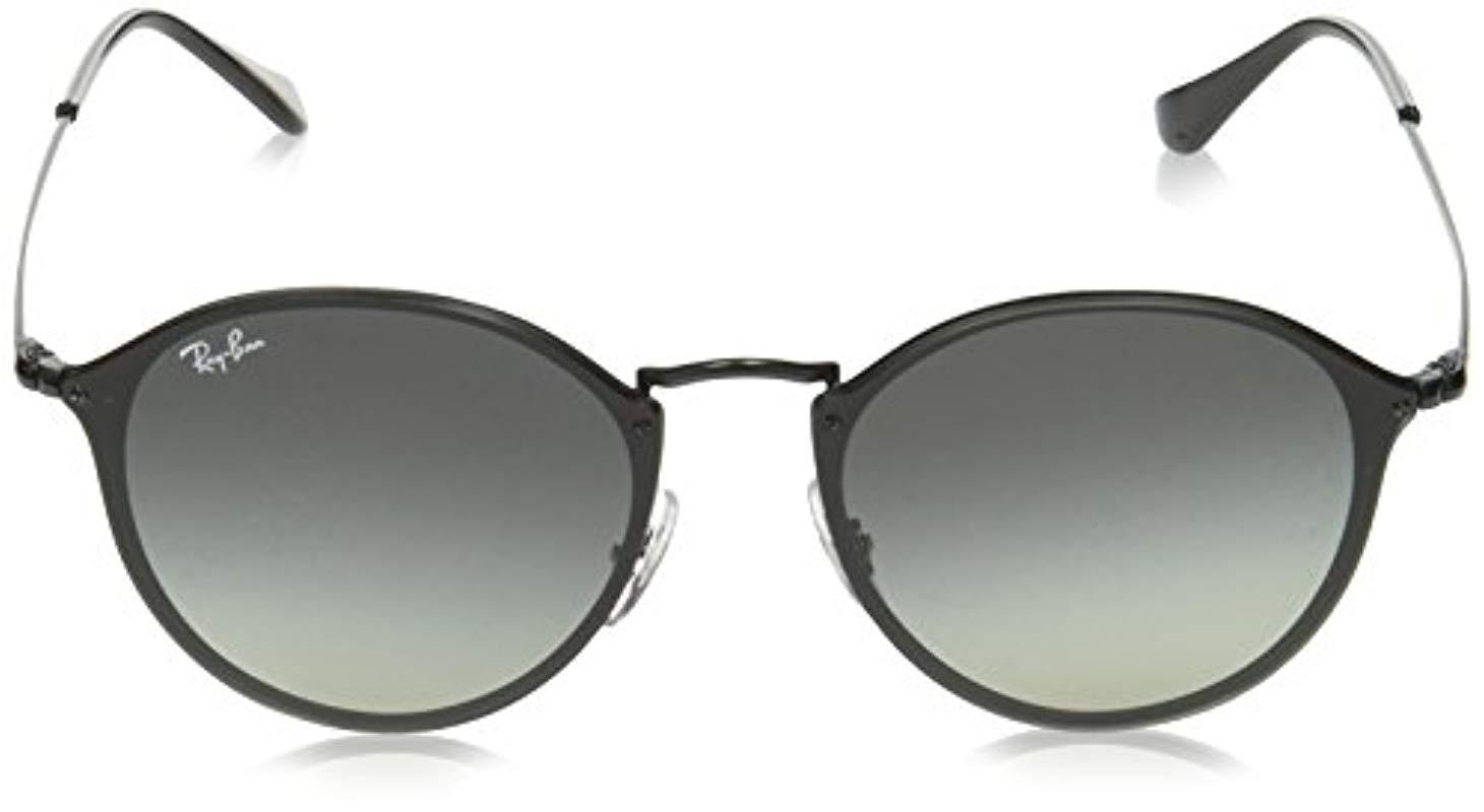 f8f125d356 Ray-Ban - Blaze Round Sunglasses In Black Rb3574n 153 11 59 - Lyst. View  fullscreen