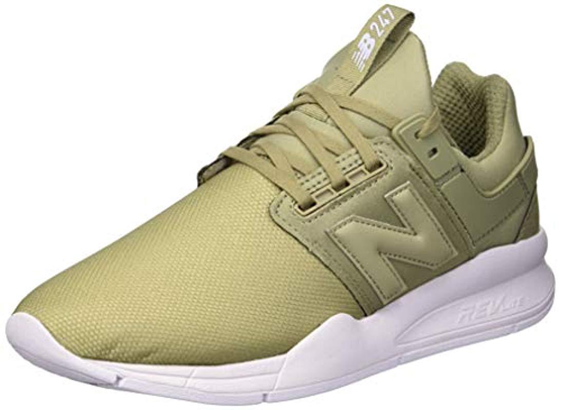 New Balance Damen 247v2 Sneaker in Grün - Sparen Sie 31% - Lyst