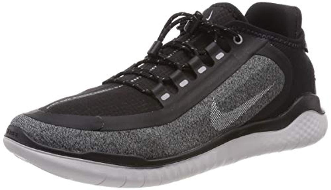 4beb9f940056 Nike. Free Rn 2018 Shield (black anthracite anthracite) Men s Running Shoes