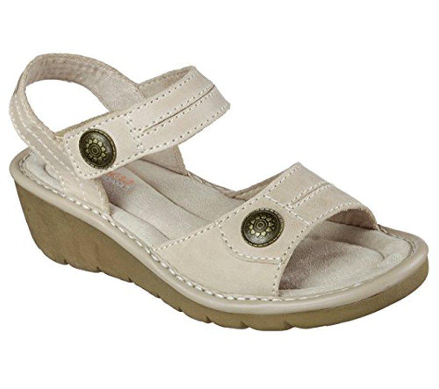 4efab0ce08ec Lyst - Skechers Cameo Faceted Dress Sandal