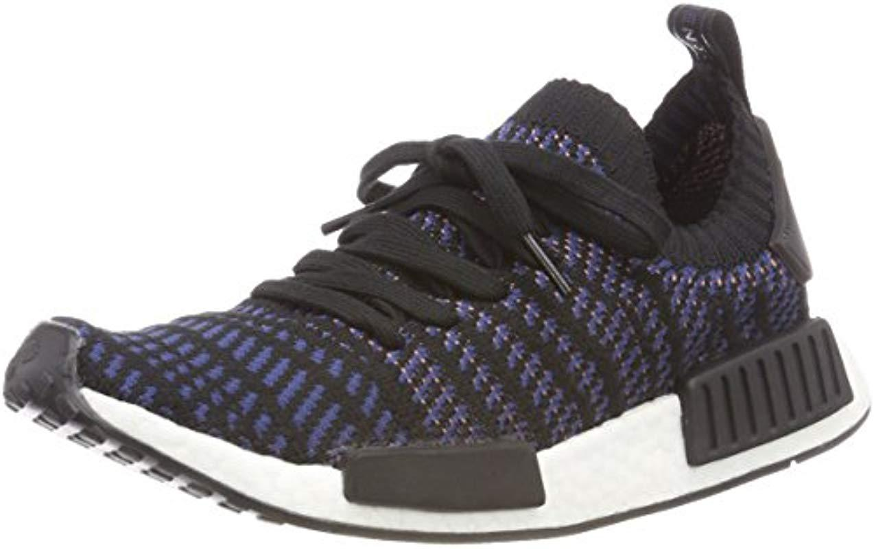 adidas Nmd r1 Stlt Primeknit Trainers Beige in Black - Save ... 0c78a79a7