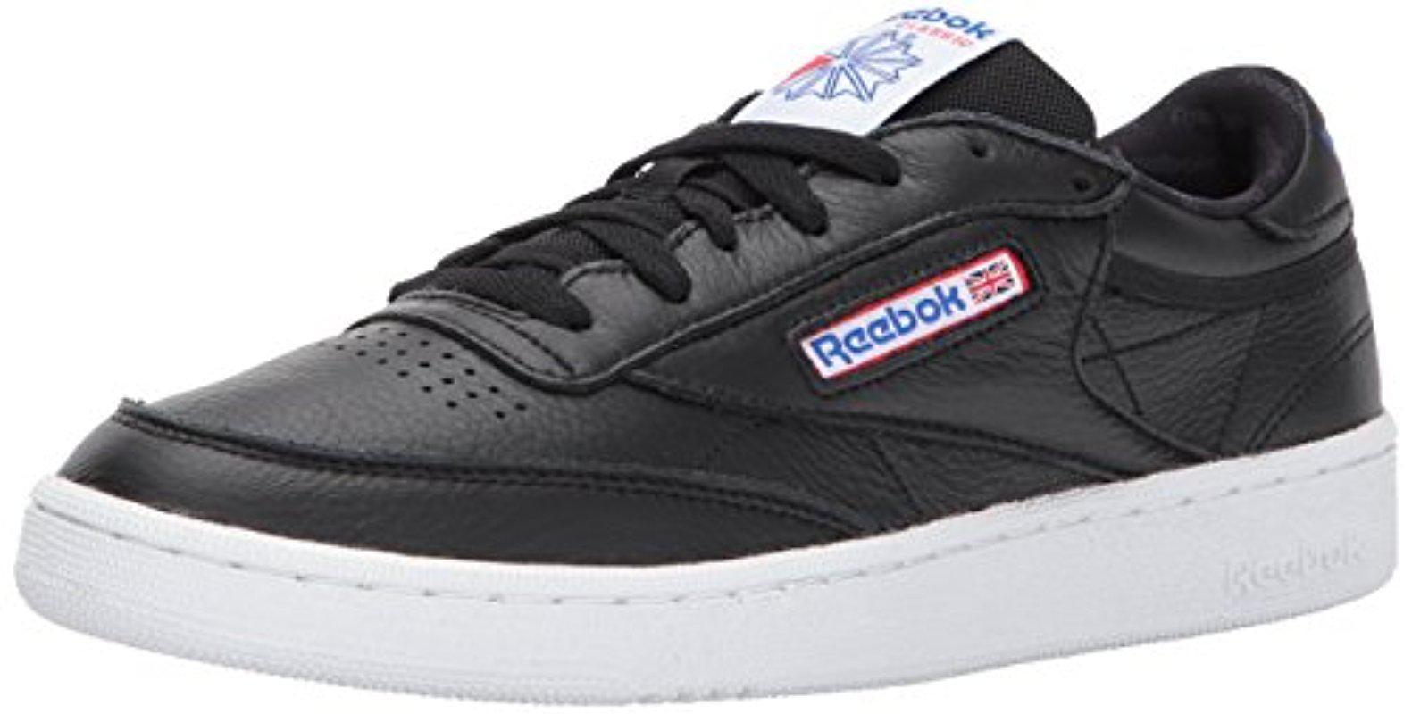 ead48a45d9b4 Lyst - Reebok Club C 85 Fashion Sneaker in Black for Men