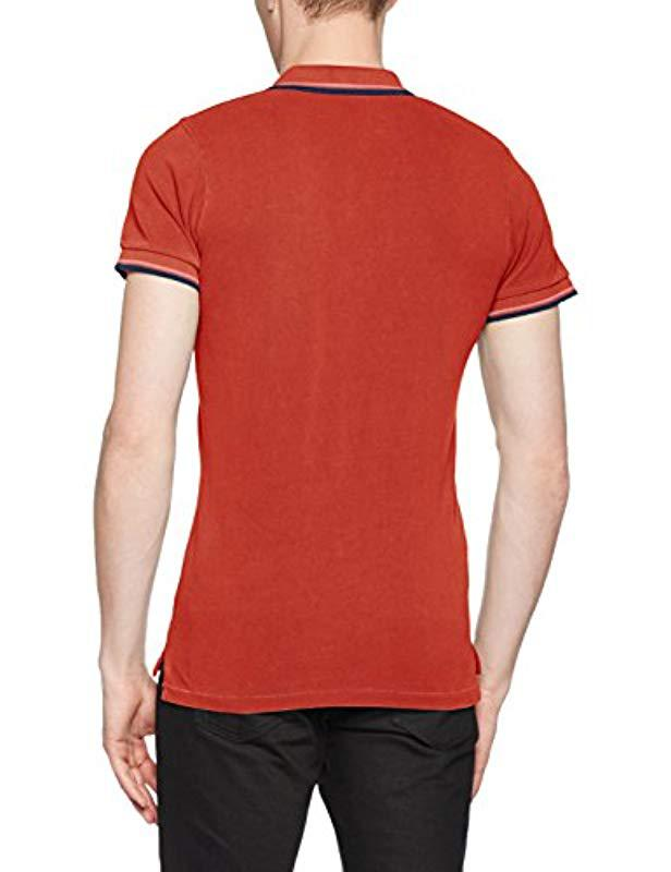 ac728349 Pepe Jeans Gulf Polo Shirt in Red for Men - Lyst