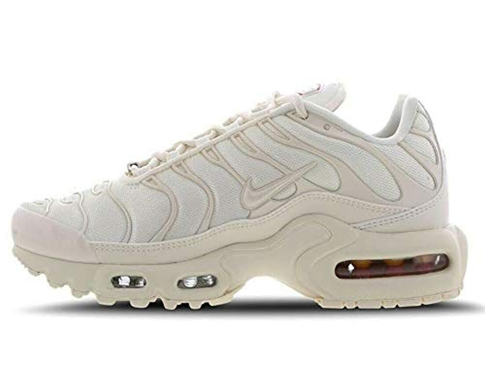 Details about Womens NIKE AIR MAX PLUS TN SE Pale Ivory Trainers CD0182 100